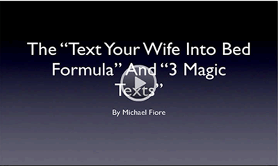 Text Your Wife Into Bed Review